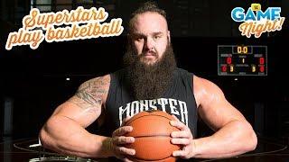 WWE Superstar basketball shootout: WWE Game Night