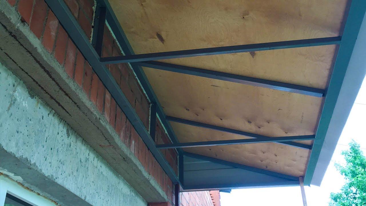Как сделать потолок на балконе своими руками последнего этажа