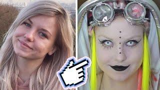 Meine drastische Styleänderung zum Cybergoth!!