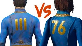 Fallout 76 vs Fallout 4: 10 BIGGEST Changes