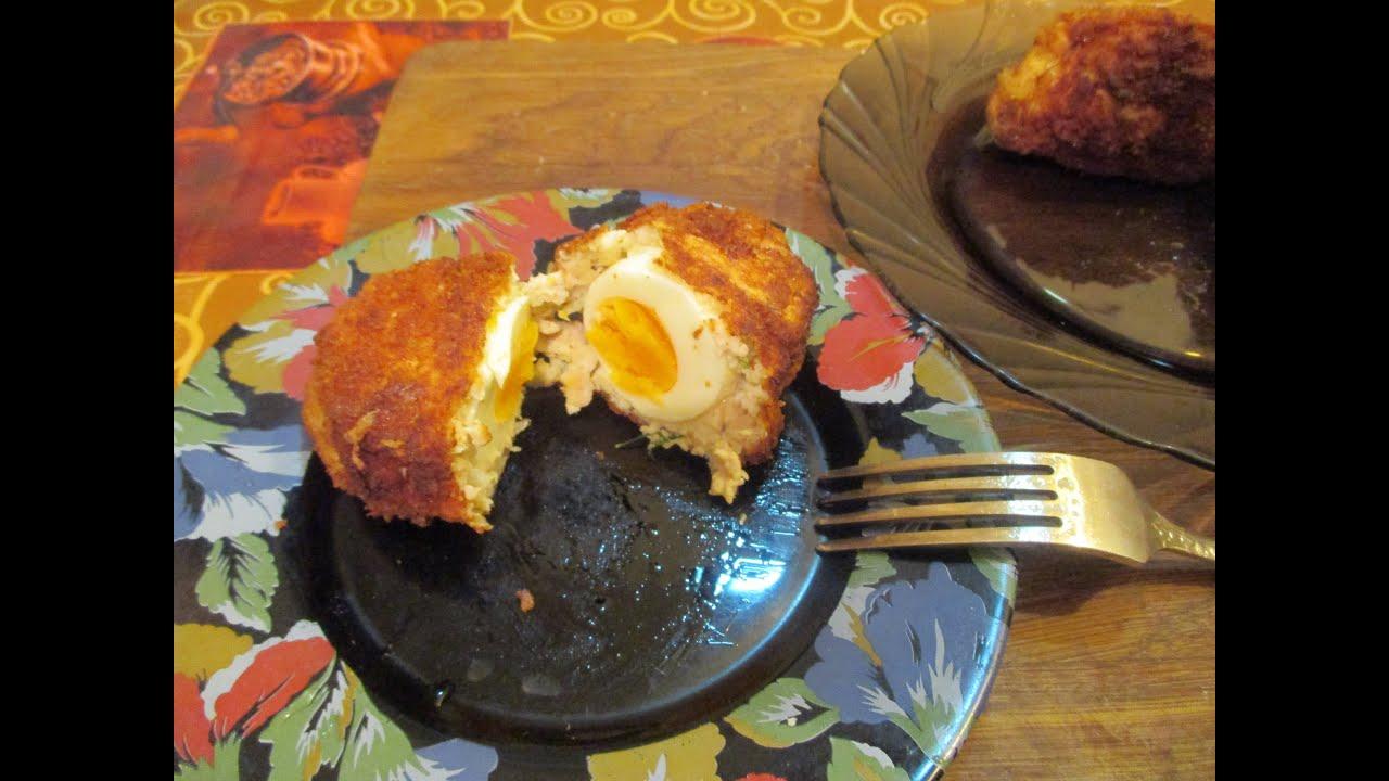 Рецепт с вареными яйцами на фарш