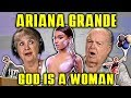 ELDERS REACT TO ARIANA GRANDE - GOD IS A...