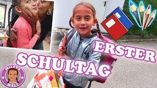 ERSTER SCHULTAG IN DER NEUEN KLASSE | BACK TO SCHOOL | MILEYS WELT