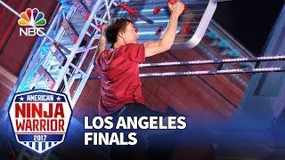 Charlie Andrews at the Los Angeles Finals - American Ninja Warrior 2017