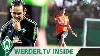 Torshow des Werder-Wochenendes, Max Kruse optimistisch | WERDER.TV Inside nach Mönchengladbach