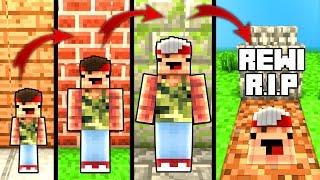 REWINSIDE LEBENSZYKLUS mit rewinside xD in Minecraft - vom Baby zum Superstar
