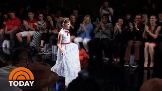 Make-A-Wish Helps Young Patient Live Her Dream Of Walking The Runway | TODAY