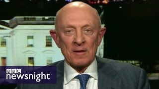 Ex CIA boss James Woolsey: Next time Russia could impact outcome of election - BBC Newsnight