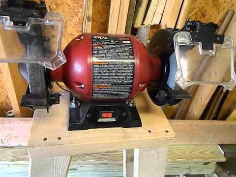 bench grinder woodworking plans 2