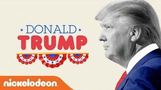 Donald J. Trump 411 | Kids Pick the President | Nick