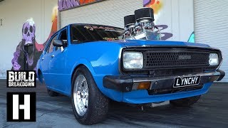 WILDEST Burnouts Ever, in a 600hp Corolla!? Lynchy Goes Insane With Help from ULEGAL