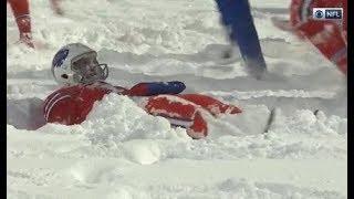 Bills vs Colts Snow Game Full Highlights - Week 14 2017