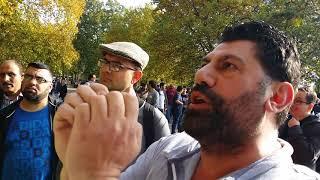Man of God - Encourage Muslims - Speakers Corner Hyde Park London 15-10-17.