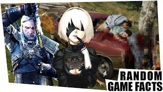 Dunkles Geheimnis in GTA5 & mehr Witcher 3 für Nier Automata - Random Game Facts #93