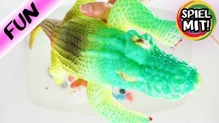 DINOSAURIER LEBEN NOCH? Hat das XXL Krokodil die Überraschungseier gefressen? Spiel mit mir