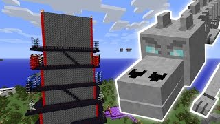 Minecraft: BONEY THE DRAGON MISSION! - Custom Mod Challenge [S8E51]