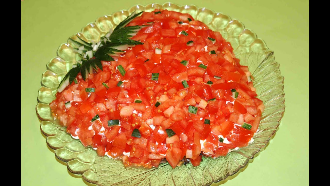 Рецепты детских салатов на праздничный стол с