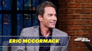 Eric McCormack Wants Justin Trudeau to Be Will Truman