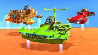 WHO HAS THE BEST HOVERCRAFT CHALLENGE!? - Trailmakers