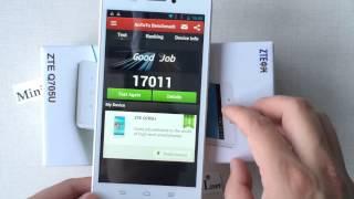 ZTE Q705U SmartPhone MTK6582 Quad Core Dual Sim With 5.7inch HD 3G WCDMA