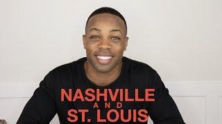 New Shows:  NASHVILLE & ST. LOUIS