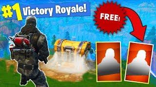 Get Two FREE LEGENDARY SKINS In Fortnite Battle Royale!