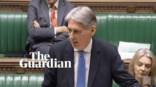 Philip Hammond says idea of renegotiating Brexit deal is