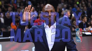NBA Daily Show: Mar. 20 - The Starters