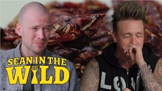 Sean Evans and Papa Roach Eat Insects   Sean in the Wild