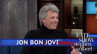 Jon Bon Jovi Is A Rock