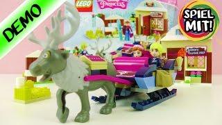 Lego Frozen DIE EISKÖNIGIN   ANNAS + KRISTOFFS SCHLITTEN ABENTEUER mit Rentier Sven