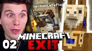 AUF LAMAS DEN WITHER BEKÄMPFEN! ✪ Minecraft EXIT #02   Paluten [Deutsch]