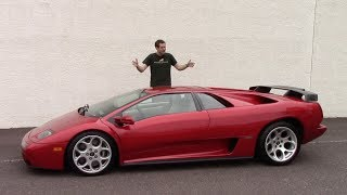 The Lamborghini Diablo Was the Craziest Car of the 1990s