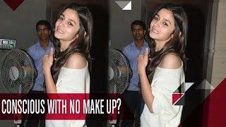 Shocking! Watch Alia Bhatt With No-Makeup Look | Bollywood News