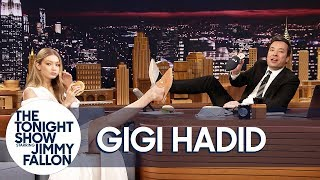 Gigi Hadid Gives Jimmy the Only Men