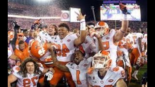 Clemson Tigers Pump-Up 2017-18