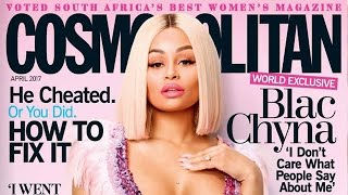 Blac Chyna Reveals How She REALLY Feels About Rob & Kylie Jenner, Slams Haters In Cosmo Interview