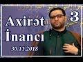 Cümə xütbəsi - Axirət inancı - 3 (...mp3