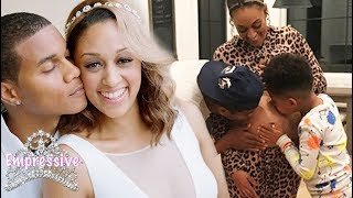 Tia Mowry is pregnant with her second child! | Baby bump picture inside