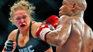 Ronda Rousey vs Floyd Mayweather at WrestleMania 32 in Houston