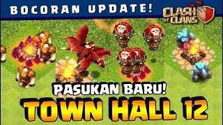 ⚠️ UPDATE LEVEL BARU Semua TROOPS TH 12! Wizardnya KEREN ABIS!!   Coc Indonesia