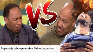 "LMAOO ""THERE IS SOMETHING WRONG WITH YOU!"" LAVAR BALL vs STEPHEN A SMITH BATTLE REACTION!"