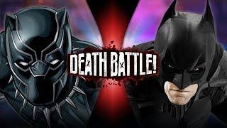 Black Panther VS Batman (Marvel VS DC) | DEATH BATTLE