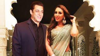 Iulia Vantur WEARS Saree For Salman At A Wedding, Salman ATTENDS Billionaire