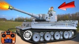 Gearbest schenkt mir einen deutschen RC Panzer Tiger 1 - UNBOXING