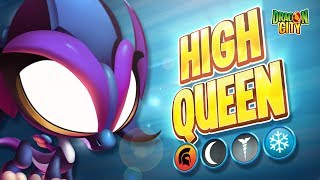 The High Queen Dragon - Heroic Race: Oni Forest - Dragon City