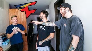 TFue Moves into the FaZe House!