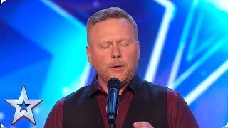 Jayson Stilwell puts unique spin on Disney song | Auditions | BGT 2019