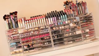 My Makeup Collection + Beauty Room! 2014 Carli Bybel