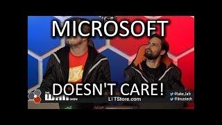 Microsoft DOESN'T CARE - WAN Show Aug 16, 2019